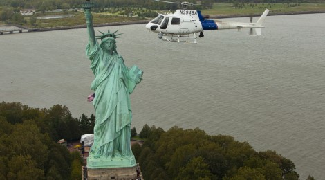 Voe mais um pouco de helicóptero