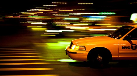 O famoso Yellow Cab de New York