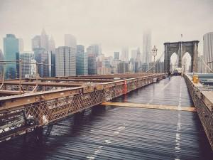 Brooklyn Bridge - Caminho para pedestres