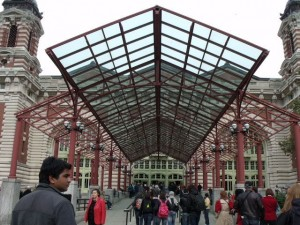 Ellis Island - Entrada
