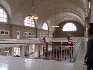 Ellis Island - interior
