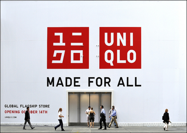 UNIQLO  ©Milo Baumgartner